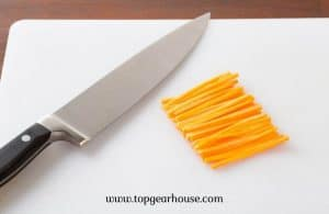 How to Achieve Julienne Cuts With a Knife?