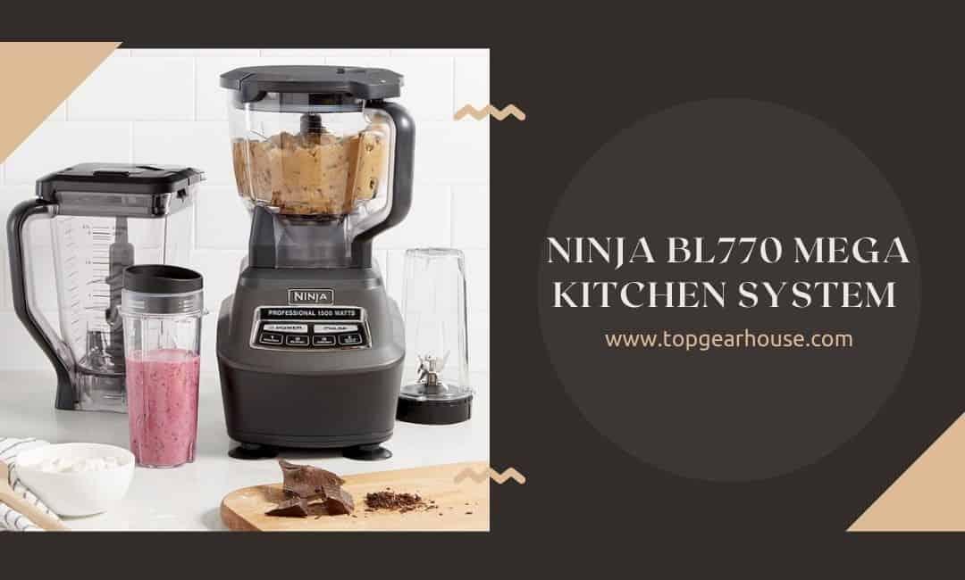 Ninja BL770 Mega Kitchen System Blender and Food Processor