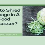 How to Shred Cabbage in A Food Processor